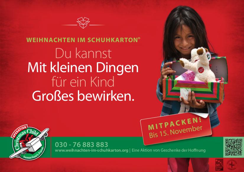 Weihnachten Im Schuhkarton Org.Elektro Dobler E Masters Veringenstadt Bosch